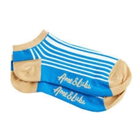 Ame & Lulu Meet Your Match Socks (OS - Ticking Stripe)