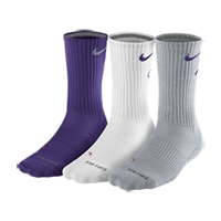 Nike Men's Dri-FIT Fly Crew Socks 3-Pack