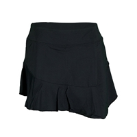 Fila Womens Goddess Handkerchief Athletic Skort - Black