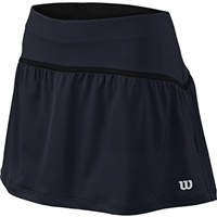 Wilson Women's Rush 13.5'' Tennis Skirt II Grey/Black