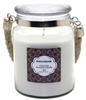 Crystalo Creations Coconut Scented Candle with Rope Handle, 18 Ounce