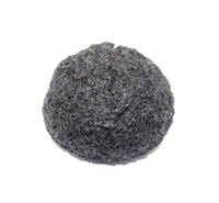 Konjac Sponge Puff - CHARCOAL - Made in Japan