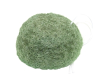 Konjac Sponge Puff - Green Tea - Made in Japan