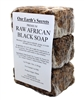 Our Earth's Secrets Raw African Black Soap, 3 Lbs