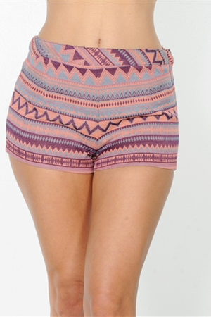 wholesale clothing Lilac Multi Short women's