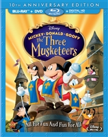 Mickey, Donald, Goofy: The Three Musketeers (BD/DVD + Digital Copy)