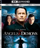 Angels and Demons 4K (Re-release)(BD + Digital Copy)