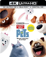 The Secret Life of Pets 4K (BD + Digital Copy)