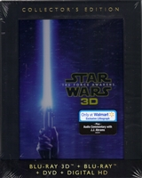 Star Wars VII: The Force Awakens 3D - Collector's Edition w/ Exclusive Lithograph (BD/DVD + Digital Copy)(DigiPack)(Exclusive)