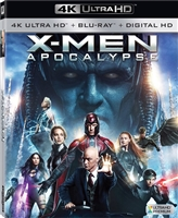 X-Men: Apocalypse 4K (BD + Digital Copy)