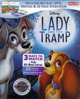 Lady and the Tramp: Signature Collection DigiBook (BD/DVD + Digital Copy)(Exclusive)
