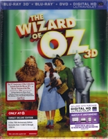 The Wizard of Oz 3D: 75th Anniversary Edition w/ Book (BD + Digital Copy)