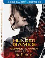 The Hunger Games: The Complete Collection - The Hunger Games / Catching Fire / Mockingjay Part 1 & 2 (DigiPack)(BD + Digital Copy)