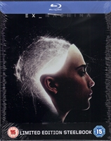 Ex Machina SteelBook (2015)(UK)