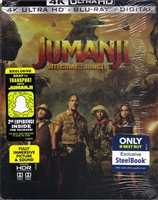 Jumanji: Welcome to the Jungle 4K SteelBook (BD + Digital Copy)(Exclusive)