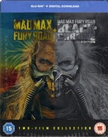 Mad Max: Fury Road - Black and Chrome Edition SteelBook (UK)