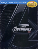 The Avengers 3D Viva Metal Case (BD/DVD + Digital Copy)(Canada)