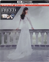 Fifty Shades Freed: Unrated 4K SteelBook (BD + Digital Copy)(Exclusive)