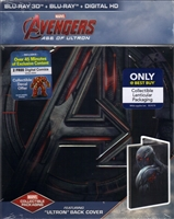 Avengers: Age of Ultron 3D SteelBook - Ultron Version (BD + Digital Copy)