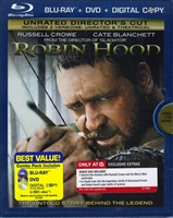 Robin Hood: Director's Cut w/ Bonus Disc (BD/DVD + Digital Copy)(Exclusive)