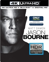 Jason Bourne 4K SteelBook (BD/DVD + Digital Copy)(Exclusive)