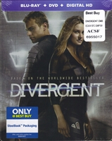 Divergent SteelBook (BD/DVD + Digital Copy)(Exclusive)
