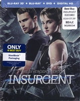 Insurgent 3D SteelBook (BD/DVD + Digital Copy)(Exclusive)