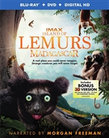 Island of Lemurs: Madagascar 3D (BD/DVD + Digital Copy)