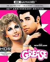Grease 4K: 40th Anniversary Edition (BD + Digital Copy)