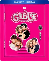 Grease Collection SteelBook: Grease / Grease 2 / Grease Live! (BD + Digital Copy)