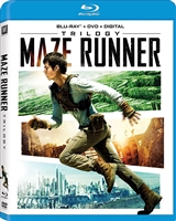 Maze Runner Trilogy: The Maze Runner / Scorch Trials / The Death Cure (BD + Digital Copy)