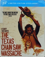 The Texas Chain Saw Massacre: 40th Anniversary Edition SteelBook (1974)(Exclusive)