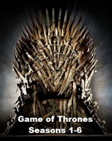 Game of Thrones: Seasons 1-6 HD Digital Copy Code (VUDU/Flixster/iTunes/GooglePlay)