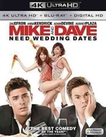 Mike and Dave Need Wedding Dates 4K (BD + Digital Copy)