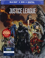 Justice League SteelBook (2017)(BD/DVD + Digital Copy)(Exclusive)