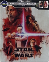 Star Wars VIII - The Last Jedi 4K SteelBook (BD + Digital Copy)(Exclusive)