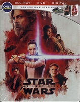 Star Wars VIII - The Last Jedi SteelBook (BD/DVD + Digital Copy)(Exclusive)