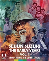 Seijun Suzuki: The Early Years, Vol. 1 - Seijun Rising: The Youth Movies - Limited Edition (BD/DVD)