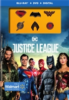 Justice League w/ Pins (2017)(BD/DVD + Digital Copy)(Exclusive)