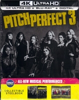 Pitch Perfect 3 4K SteelBook (BD + Digital Copy)(Exclusive)