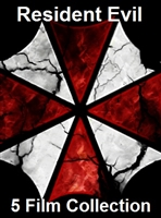 Resident Evil 5-Film Collection: Resident Evil / Apocalypse / Extinction / Afterlife / Retribution HD Digital Copy Code (UV)