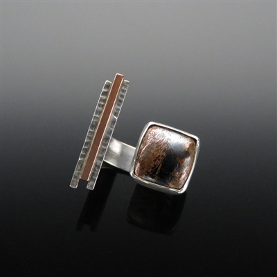 Sterling Silver Ring With Native Copper