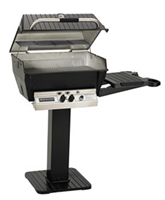 H3X Deluxe Natural Gas Grill Patio/Base Package