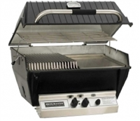 P4X Premium Gas Grill with Stainless Steel Rod Multi-Level Grids, Natural