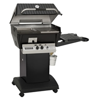 Q3 Qrave Premium Gas Grill Cart Package, Propane
