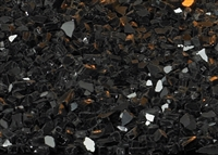 Decorative Crushed Glass - Black Polished (Accent Only)