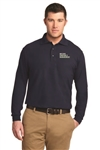 Port Authority Men's L/S Silk Touch Polo