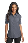 Port Authority Ladies S/S Oxford Shirt