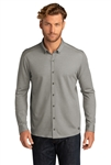 OGIO Code Stretch Long Sleeve Button-Up