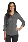 Red House Ladies 3/4-Sleeve Nailshead Non-Iron Shirt